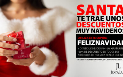 Santa te trae descuentos muy navideños a nuestra tienda online